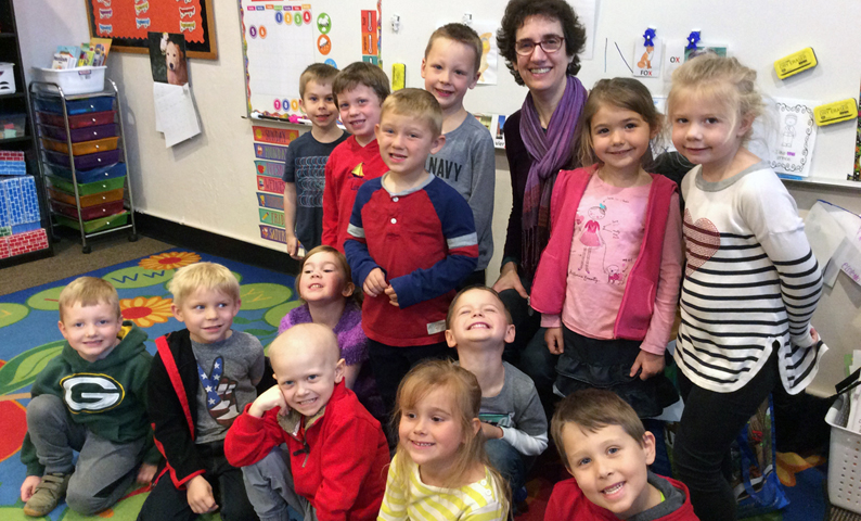 St. Francis Xavier 4K class with Miss Catherine
